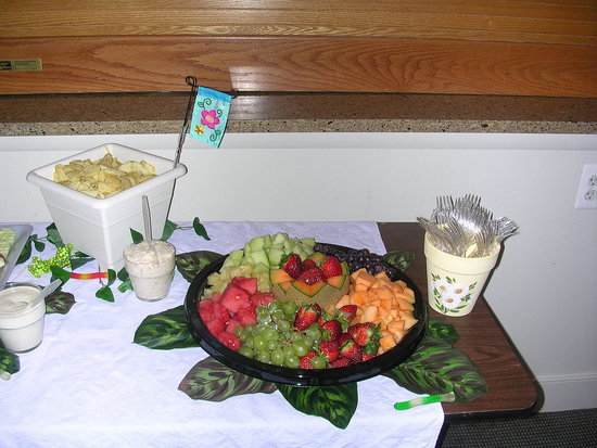 more food table